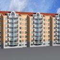 Modern Condominium Apartment Building