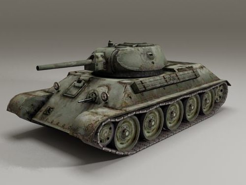 Venäjän T-34-76 säiliö