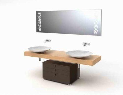 Diseño de gabinete de tocador de baño