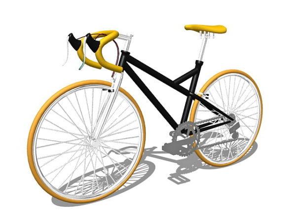 Race Bike 3ds Max Model Free (Max) - Open3dModel