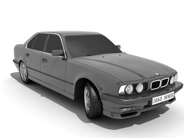 BMW 540i Porrasperä