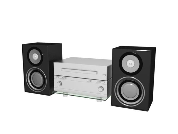 Audio Speaker And Amplifier