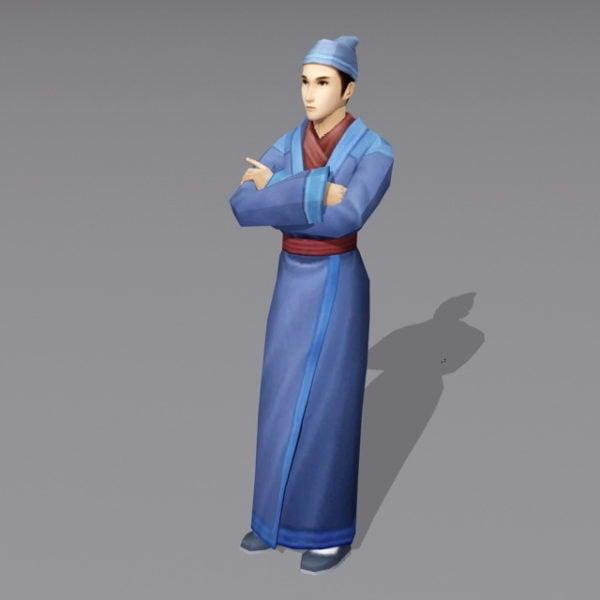 ذكر الصينية القديمة النادل