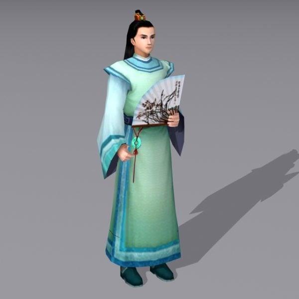 Erudito chino antiguo chino