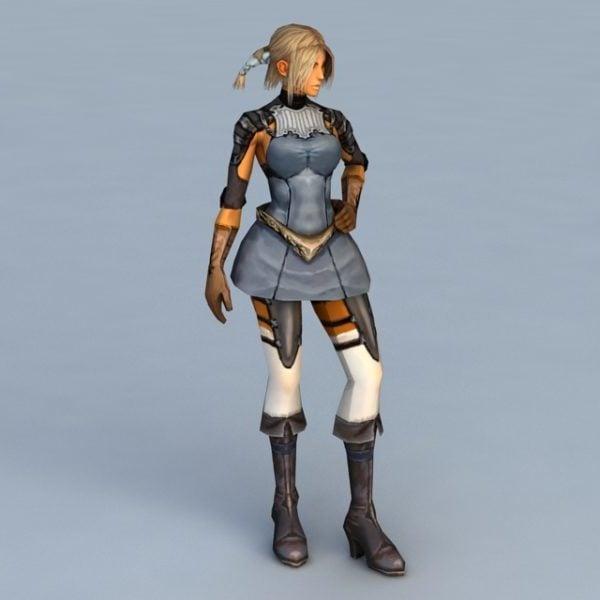 Germaaninen soturi nainen