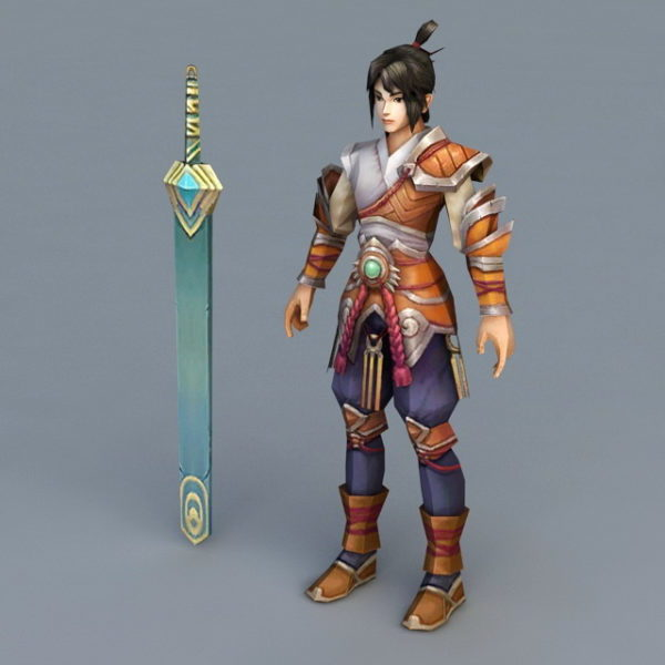 Awesome Anime Swordsman