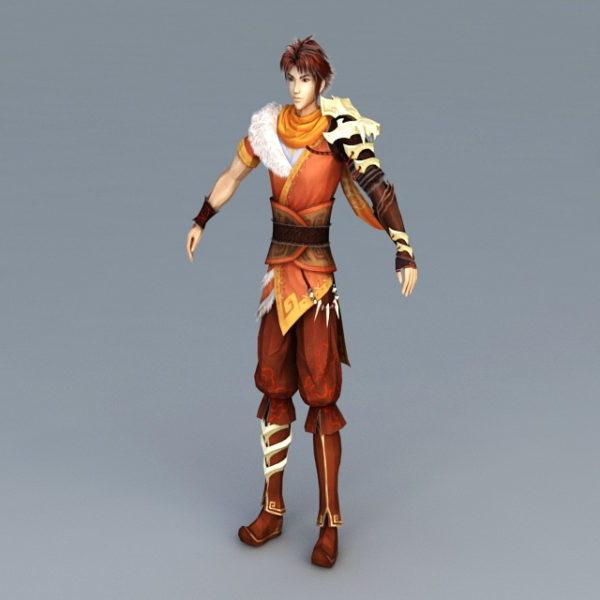 Anime Guy Warrior
