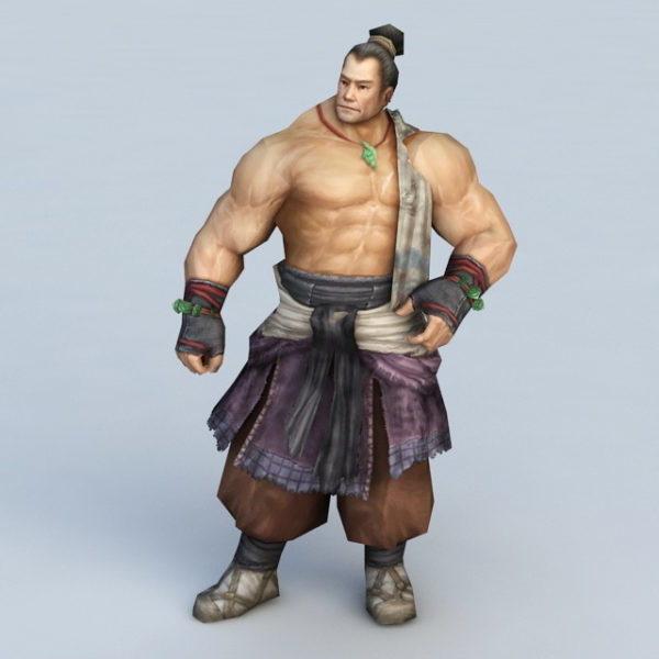 Hombre chino de Kung Fu