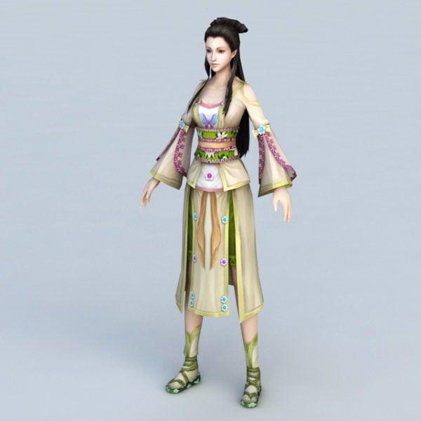 Antigua china mujer