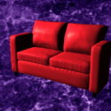Red Reclining Loveseat