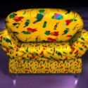 Yellow Sofa Chair