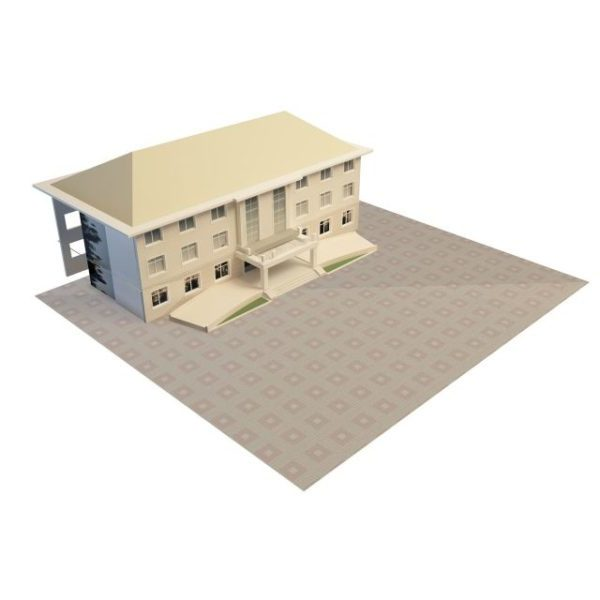 Small Office Building Free 3d Model Max Open3dmodel 29652