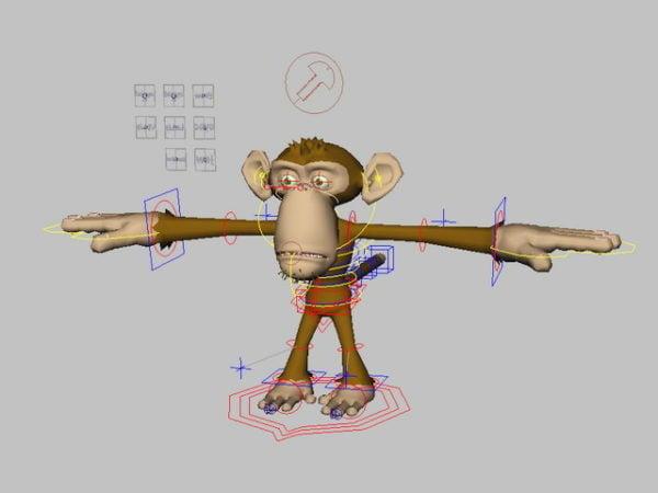 Cute Monkey Rig