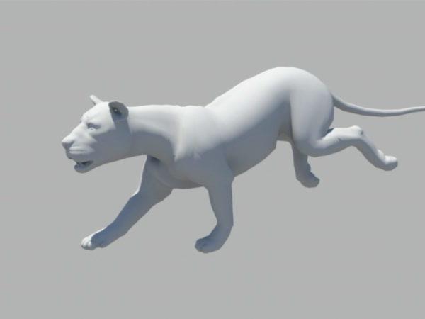 Animoitu leijonaukko