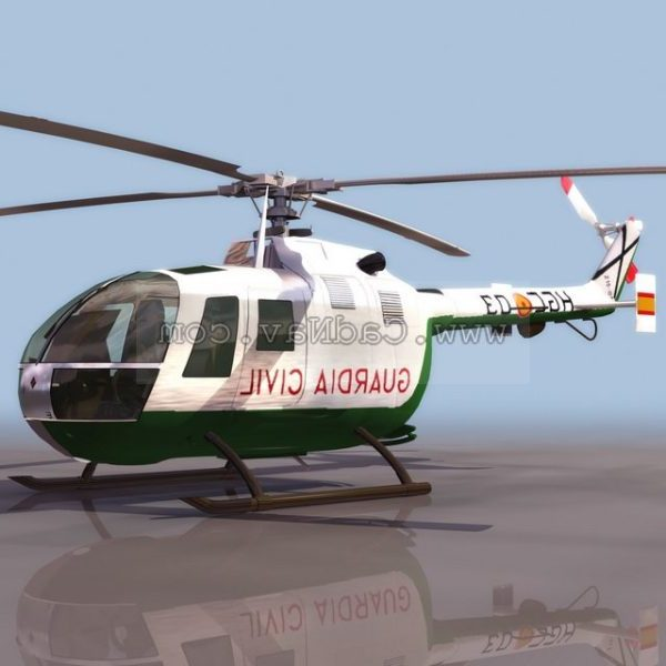 Bo105 moniroolinen kevyt helikopteri