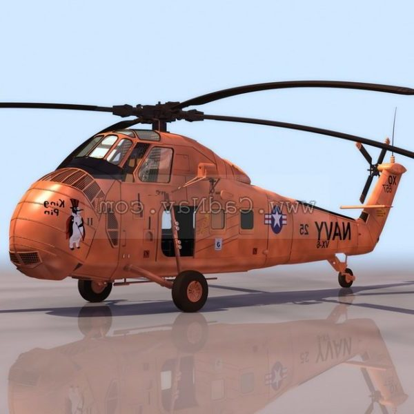 Sikorsky Hus-1 Attack Helicopter