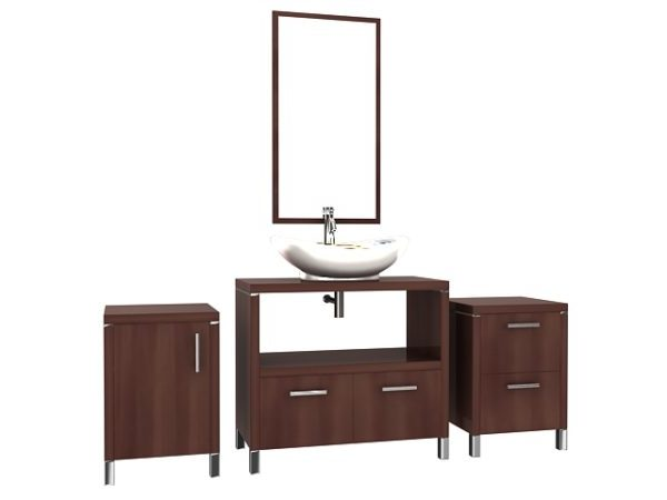 Mueble de baño de madera