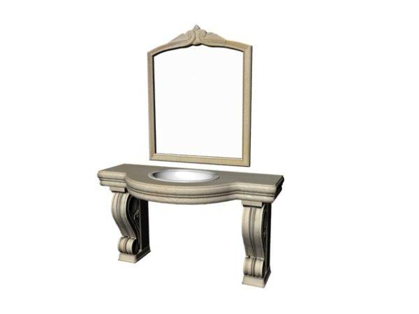 Antique Bathroom Vanity Design