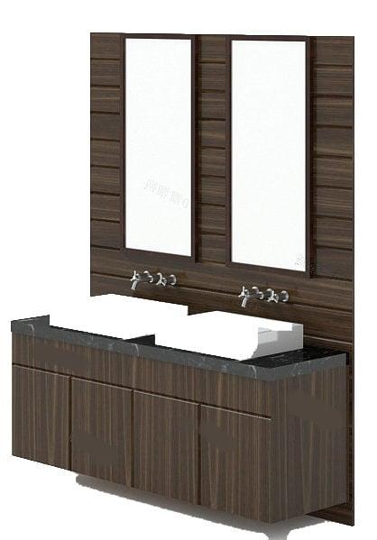 Unidades de tocador de doble lavabo