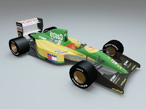 Lotus 107 Ford Tamiya