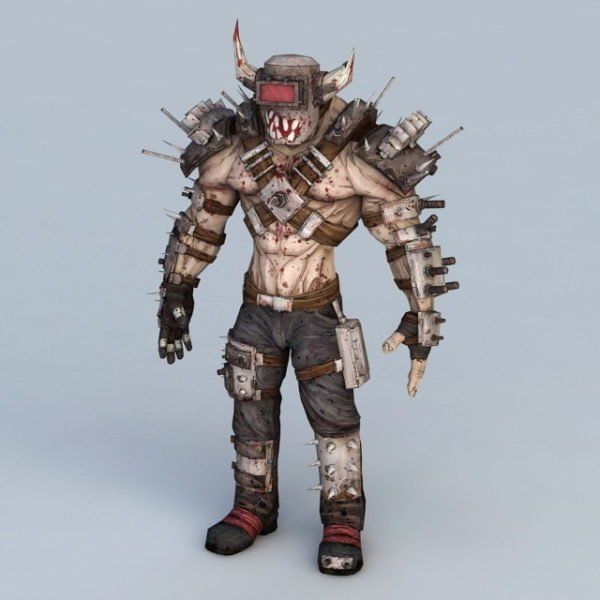 Monstruo humanoide Steampunk