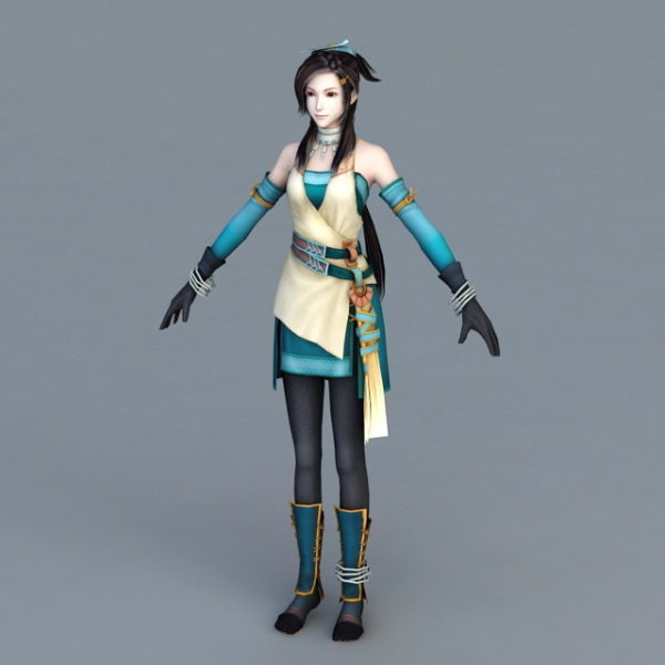 Anime Tyttö Fighter