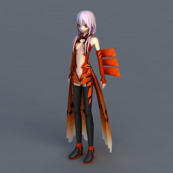 Mariposa anime chica