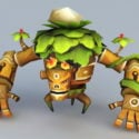 Treant Cartoon Monster