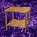 Noční stolek ze dřeva