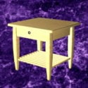 Small Nightstand Table