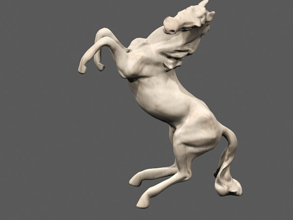 Marble Horse Figurine