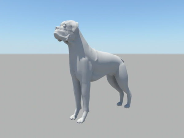 Grumpy Dog Free 3D Model ( Ma, Mb) - Open3dModel