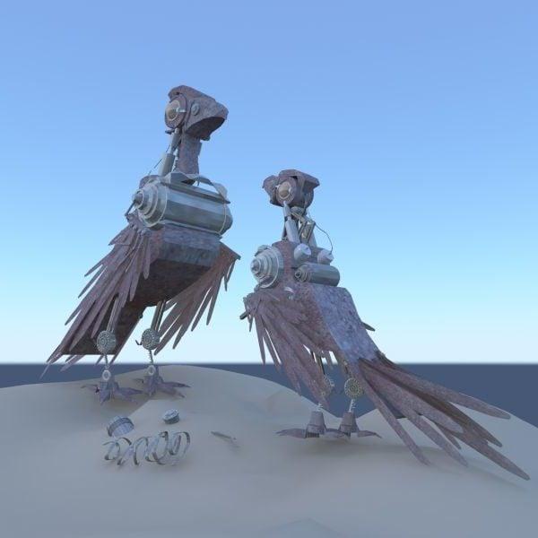 روبوت الطيور