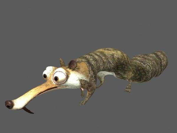Ice Age Squirrel الرسوم المتحركة