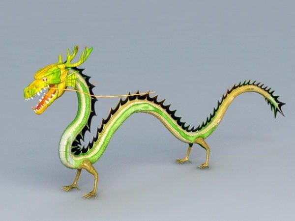 التنين الصيني الأخضر