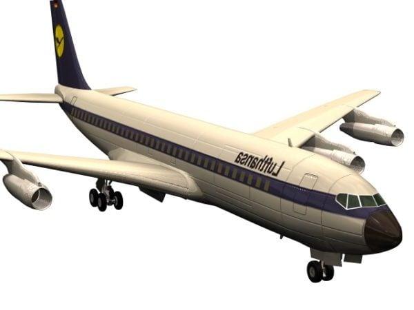 Boeing 707 Jet Airliner