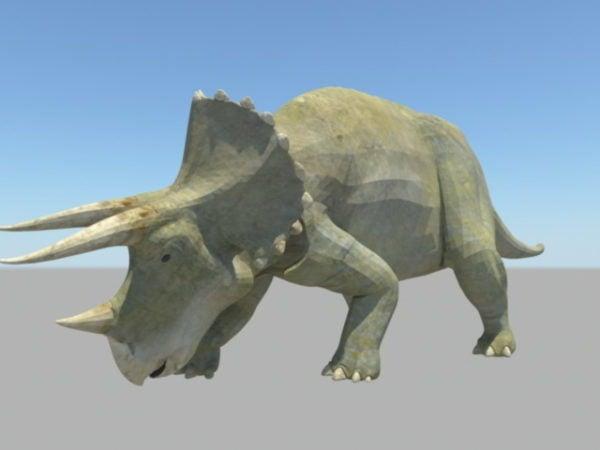 ترايسيراتوبس ديناصور