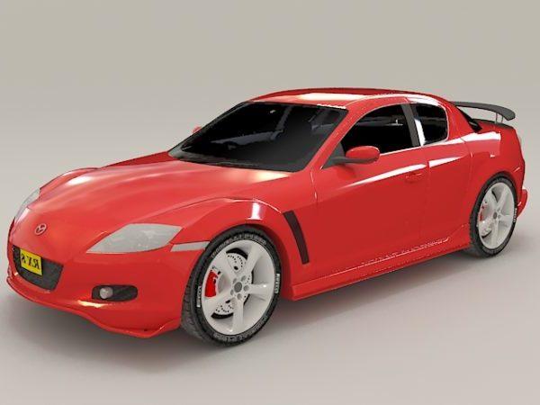 Mazda Rx-8 Red