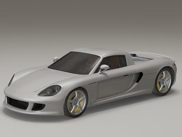 Porsche Carrera Gt Car