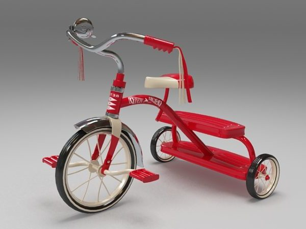 Los niños del triciclo