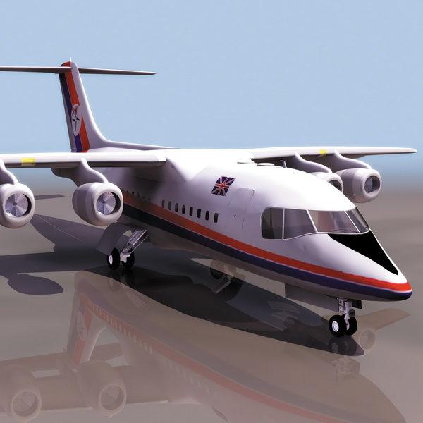 باي 146 طائرة ركاب إقليمية