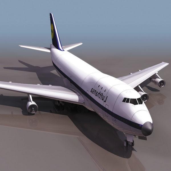 بوينغ 747 - طائرة ركاب تجارية
