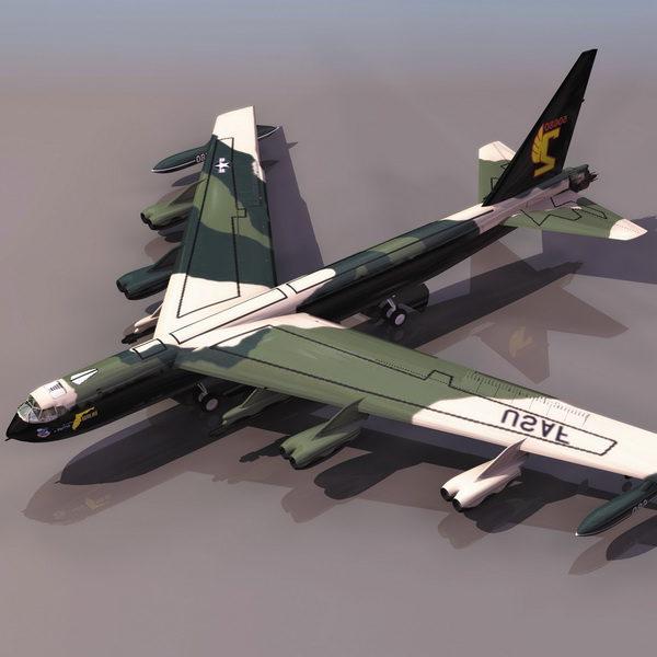 Avión de bombardero estratégico Boeing B-52