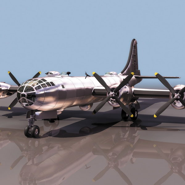 Boeing B-29 Heavy Bomber Aircraft