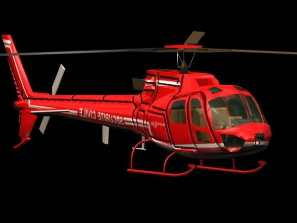 Eurocopter As350 Ecureuil Helicopter
