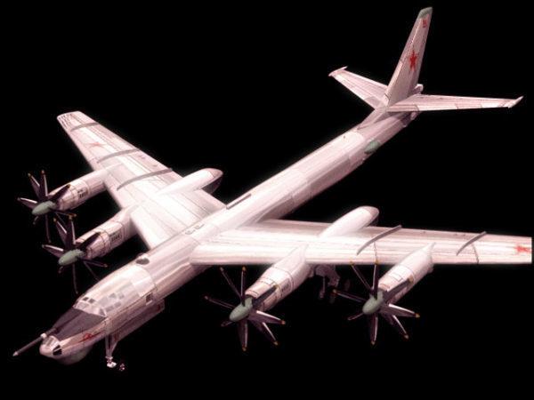 Tupolev Tu-95 Bear Strategic Bomber
