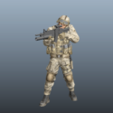 Marine Special Forces Soldier