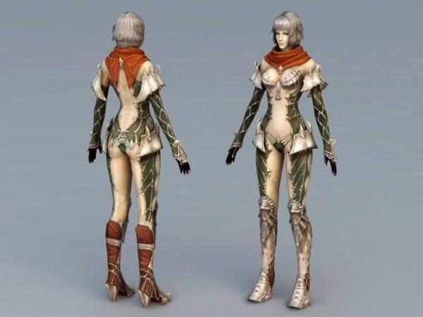 Anime Female Knight