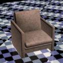 Small Fabric Club Chair