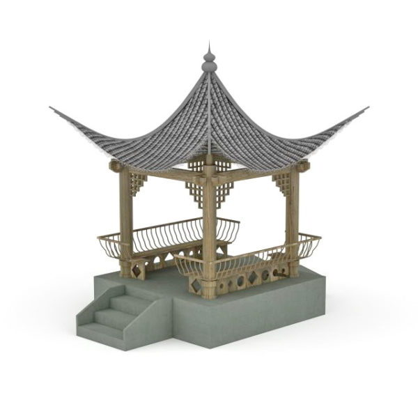 Ancient Chinese Pavilion